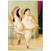 """House Additions """"Ballerina to the Handrail"""" by Botero Art Print Plaque"""