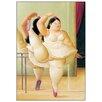 """House Additions Schild """"Ballerina to the Handrail"""" von Botero, Kunstdruck"""