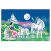House Additions 'Unicorn Princess' by Robin Koni Graphic Art Plaque