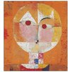 House Additions 'Senecio' by Klee Art Print Plaque