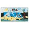 House Additions 'La Joie De Vivre AU Antopolis' by Picasso Art Print Plaque