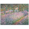 House Additions 'Jardin a Giverny' by Monet Art Print Plaque