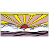 House Additions 'Sunrise' by Lichtenstein Graphic Art Plaque
