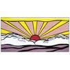 """House Additions Schild """"Sunrise"""" von Lichtenstein, Grafikdruck"""