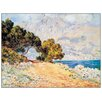 House Additions 'Cap Martin' by Monet Art Print Plaque