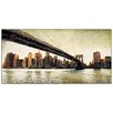 "House Additions ""Brooklyn Bridge View"" by Daniels Art Print Plaque"