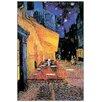 """House Additions Schild """"Café Nuit"""" von Van Gogh, Kunstdruck"""