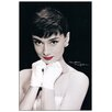 House Additions Audrey Hepburn Graphic Art Plaque