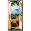 "House Additions ""Giardino Sul Lago"" by Del Missier Art Print Plaque"