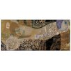 House Additions 'The Sea Serpent' by Klimt Art Print Plaque