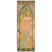 House Additions 'La Mattina' by Mucha Graphic Art Plaque