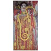 House Additions 'Hygieia' by Klimt  Art Print Plaque