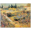 "House Additions ""Garden in Full Bloom"" by Van Gogh Art Print Plaque"