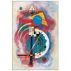 "House Additions Schild ""Omaggio a Grohmann"" von Kandinsky, Kunstdruck"