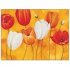 House Additions 'Festa Di Tulipani' by Luffarelli Art Print Plaque