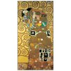 House Additions 'Embrace' by Klimt Art Print Plaque