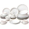House Additions 40 Piece Porcelain Dinnerware Set