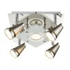 House Additions 5 Light Flush Ceiling Light