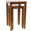 House Additions Solid Wood 2 Piece Nest of Tables