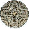 House Additions Quibble Blue Area Rug