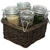 House Additions Mare Spice Jar Set (Set of 4)