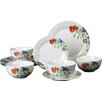 House Additions Porcelain 12 Piece Dinnerware Set
