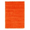 House Additions Orange Area Rug
