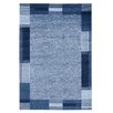 House Additions Teppich in Blau