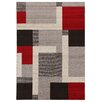 House Additions Raphael Multi-Coloured Area Rug