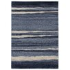 House Additions Saone Blue Area Rug