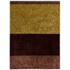 House Additions Calais Handmade Brown Area Rug