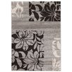 House Additions Raphael Grey/Black Area Rug