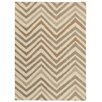 House Additions Troyes Hand-Woven Sand Area Rug