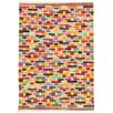 House Additions Cholet Hand-Woven Multi-Coloured Area Rug