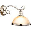 House Additions Sassari 1 Light Semi-Flush Wall Light
