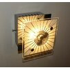House Additions Santi 1 Light Flush Ceiling Light