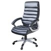 House Additions Lex High-Back Leather Executive Chair