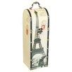 House Additions Weinflaschenhalter Eiffel Tower für 1 Fl.