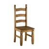 Home & Haus Traditional Corona Solid Pine Dining Chair (Set of 2)
