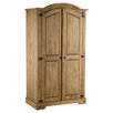 Home & Haus Traditional Corona 2 Door Wardrobe