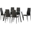 Home & Haus Adder Dining Table and 6 Chairs