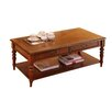 Home & Haus Shalcomb Coffee Table with Magazine Rack