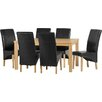 Home & Haus Belgravia Dining Table and 6 Chairs