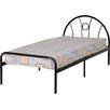 Home & Haus Nova Single Wrought Iron Bed