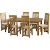 Home & Haus Tortilla Dining Table and 6 Chairs