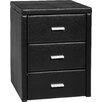 Home & Haus Aleen 3 Drawer Nightstand