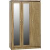 Home & Haus Rossett 3 Door Wardrobe