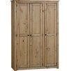 Home & Haus Kleiderschrank Balder, 175 cm H x 118 cm B x 50 cm T