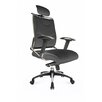 Home & Haus Designer High-Back Executive Chair with Adjustable Arm
