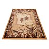 Home & Haus Halite Mustard Area Rug